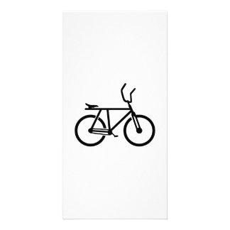 Cycle ball bike card