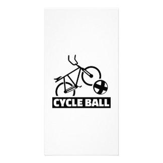 Cycle ball card