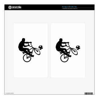 Cycle ball kindle fire decal