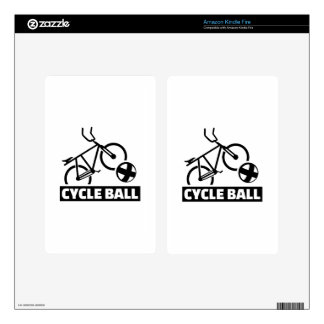 Cycle ball kindle fire decals