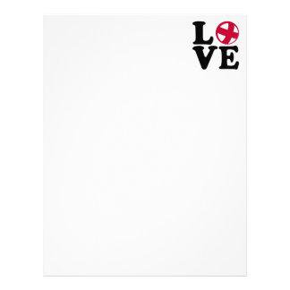 Cycle ball love letterhead