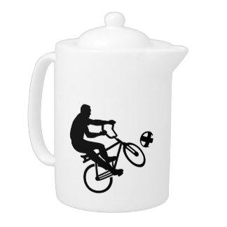 Cycle ball teapot