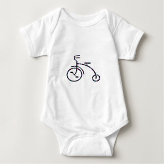 CYCLE Bike Ride Drive Unique Vintage FUN NVN552 GI Baby Bodysuit