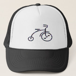 CYCLE Bike Ride Drive Unique Vintage FUN NVN552 GI Trucker Hat