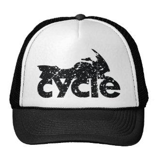 Cycle Brand Grunge Logo Hat