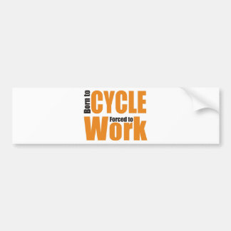 cycle bumper sticker