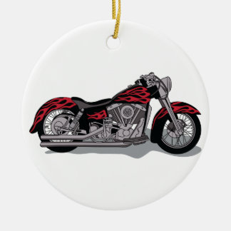 Cycle Ceramic Ornament