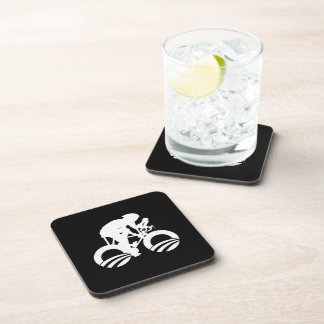 CYCLE FORWARD WITH OBAMA.png Beverage Coasters