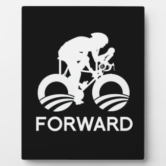 CYCLE FORWARD WITH OBAMA -.png Display Plaque