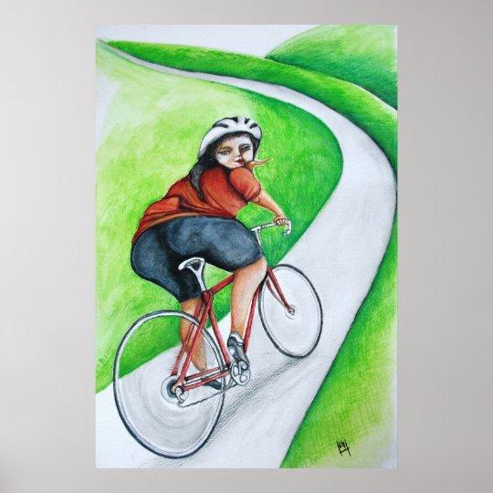 Cycle Girl- Kiss Goodbye Poster