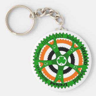 Cycle Ireland Basic Round Button Keychain