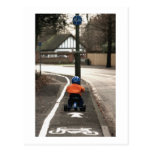 Cycle lane post cards