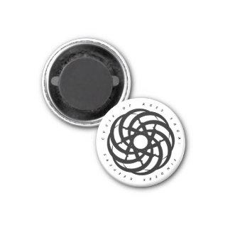 Cycle of Ages Saga:  B&W Circular Logo Magnet