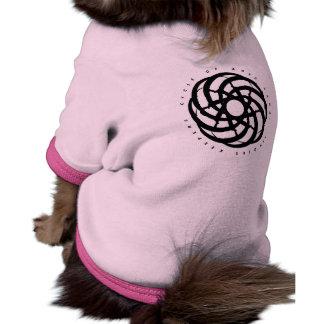 Cycle of Ages Saga Dog Shirt with Black Logo