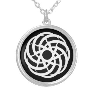 Cycle of Ages Saga: Silver-Plate Necklace