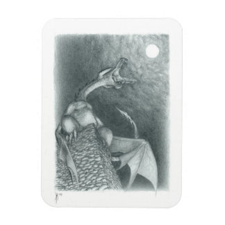 Cycle of Ages Saga:  Wyvern Flexi-Magnet Rectangular Photo Magnet