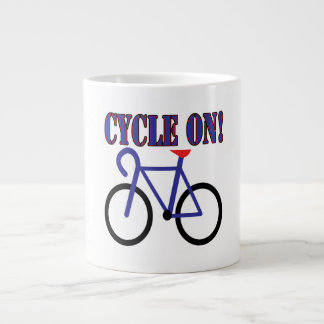 Cycle On 2 Giant Coffee Mug