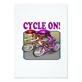 Cycle On 3 Card