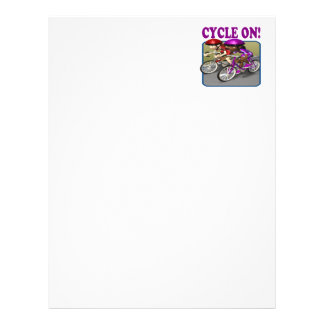 Cycle On 3 Customized Letterhead