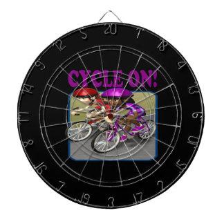 Cycle On 3 Dart Board