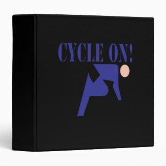 Cycle On 3 Ring Binder