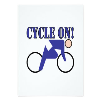 Cycle On Card