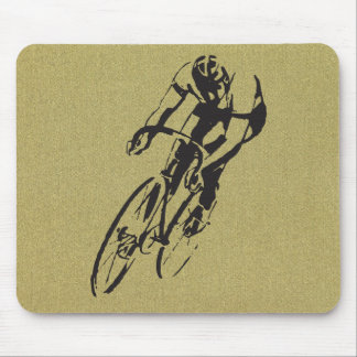 Cycle Racing Velodrome Mouse Pad