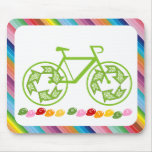 Cycle Recycle Mouse Pad