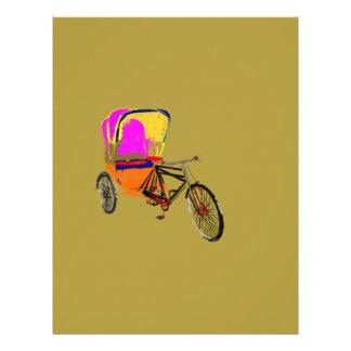 Cycle Rickshaw Olive Custom Letterhead