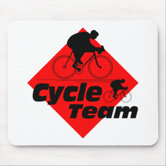 Cycle Team Mouse Pad