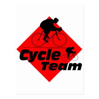 Cycle Team Postcard
