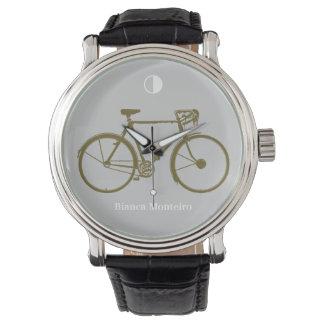 cycle time wrist watch