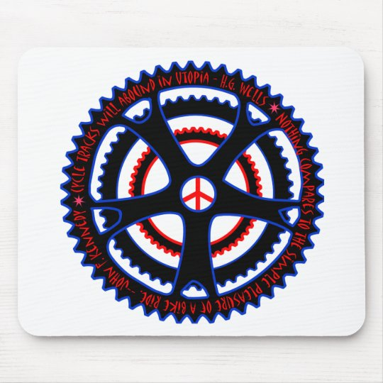 Cycle Tracks Will Abound in Utopia Mouse Pad