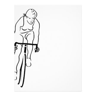 Cycle Woman Customized Letterhead