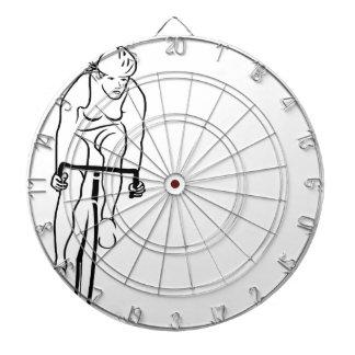 Cycle Woman Dart Boards