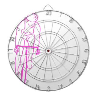 Cycle Woman pink Dartboards