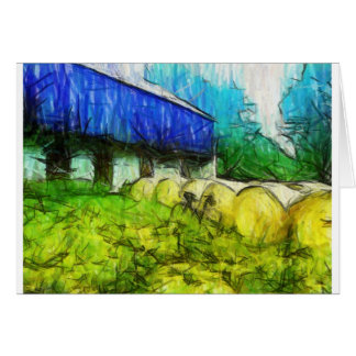 """CycleArt """"Bucolic Bedfellow"""" Greeting Cards"""