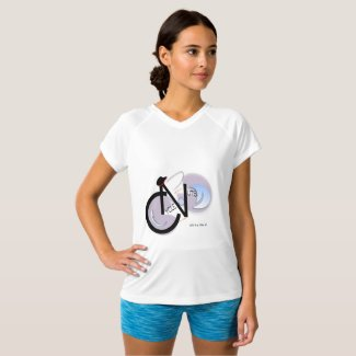 CycleNuts Champion Double-Dry V-Neck T-Shirt