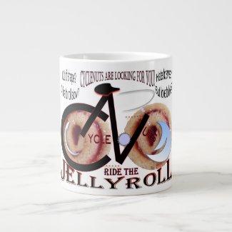 CycleNuts JellyRoll Jumbo Coffee Mug
