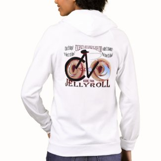 CycleNuts Women's JellyRoll Zip-up Hoody