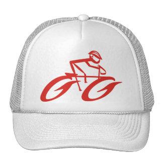 Cycler abstracto se divierte el casquillo gorra