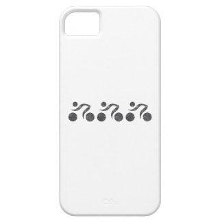 Cyclers en gris funda para iPhone SE/5/5s