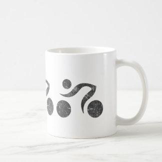 Cyclers in Grey Coffee Mug