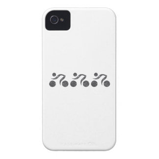 Cyclers in Grey iPhone 4 Case