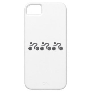 Cyclers in Grey iPhone SE/5/5s Case