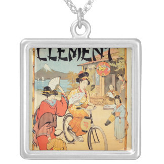 Cycles Clement Pre Saint-Gervais Silver Plated Necklace