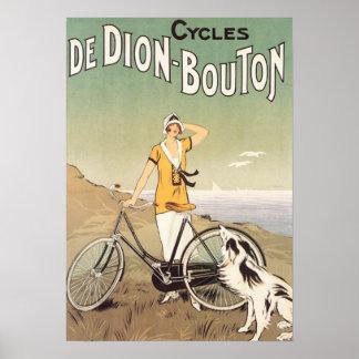 Cycles De Dion Bouton Poster