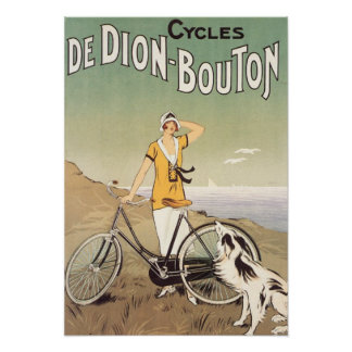 Cycles De Dion Bouton Poster