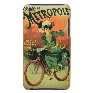 'Cycles de La Metropole', Marie & Co. (colour lith Case-Mate iPod Touch Case