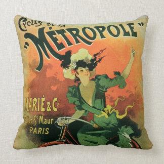 """""""Cycles de La Metropole"""", Marie y Co. (lith del Cojín"""